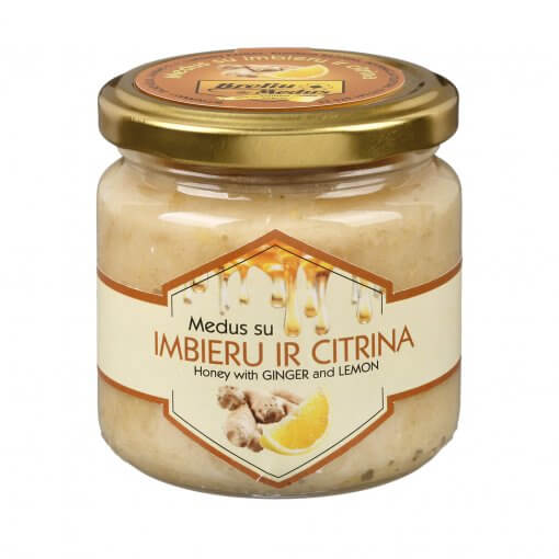 Medus su imbieru ir citrina