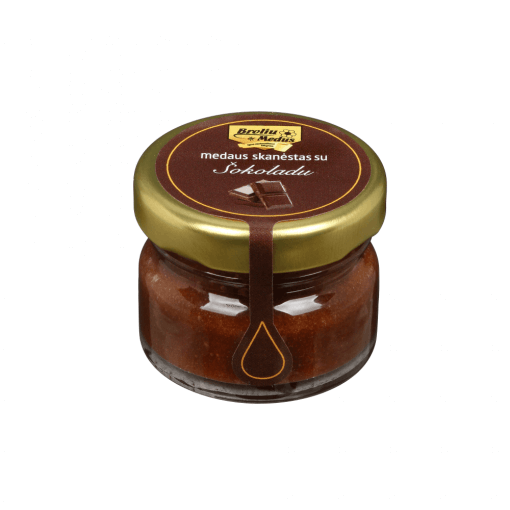 medus su sokoladu
