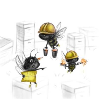 bičių mokykla