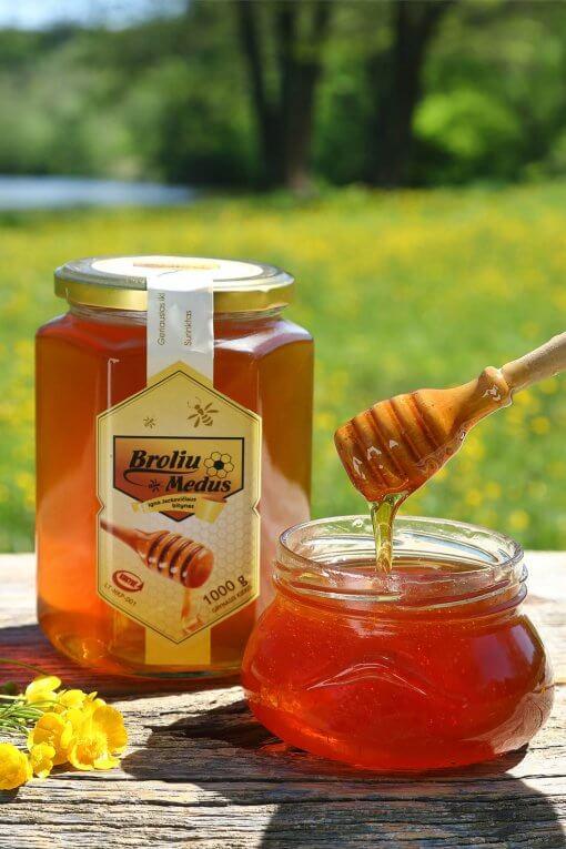 šviežias medus