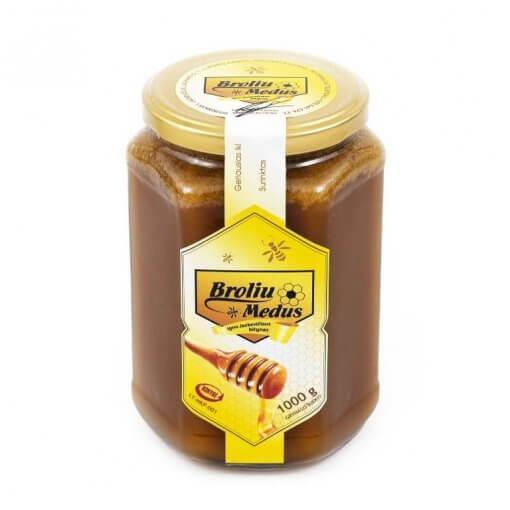 grikių medus 1kg