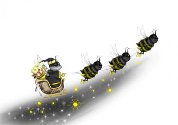 bičių paruošimas žiemai