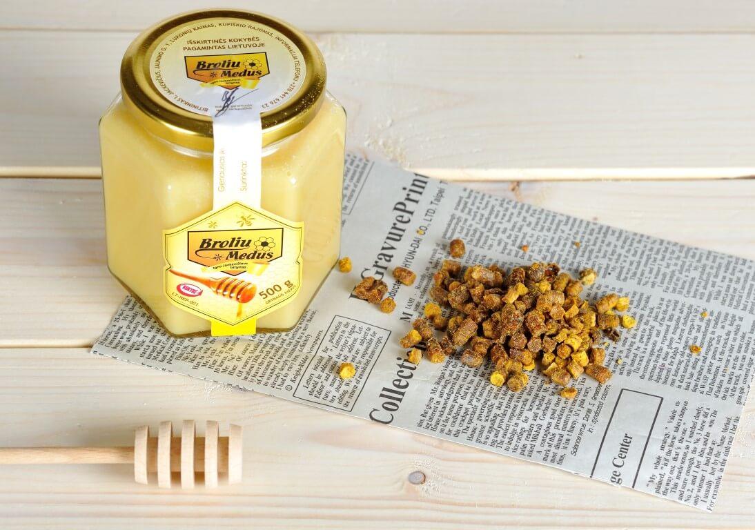bičių kulinarijos paslaptis