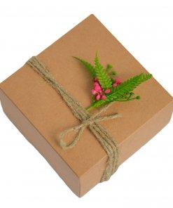 vidutinė Kalėdinė dovanų dėžutė